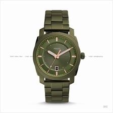 FOSSIL FS5389 Men's Machine 3-hand Date SS Bracelet Olive Green