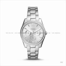FOSSIL ES4314 Women's Scarlette Multifuntion Glitz SS Bracelet Silver