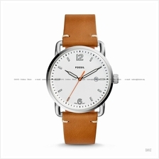 FOSSIL FS5395 Men's The Commuter 3-hand Date Leather Strap Tan