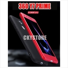 HUAWEI Y7 PRIME 360 FULL Protection with Tempered Glass Case Cover