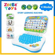 ZEEBE Kids' Learning 7 Modes Laptop with Music Available in 4 theme V2