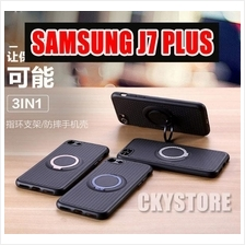 SAMSUNG Galaxy J7 PLUS IFACE Magnetic Ring Standable SLIM Case
