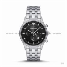 EMPORIO ARMANI AR11017 Men's Chronograph SS Bracelet Black