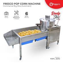 Pop Corn Machine Gas Commercial Big