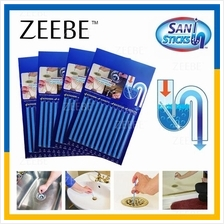 ZEEBE Sani Sticks As Seen on TV Drain Cleaner and Deodorizer