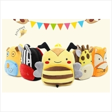 Zoo Series Cute Children's Bags Backpack Kindergarten Bag
