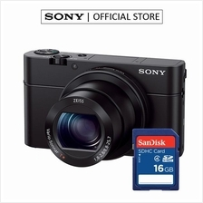 SONY DSC-RX100MIII / RX100M3 20.1MP + 16GB MEMORY CARD)