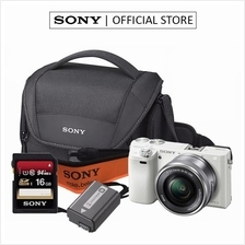 SONY ALPHA A6000L / ILCE-6000L (WHITE) MIRRORLESS DIGITAL CAMERA)