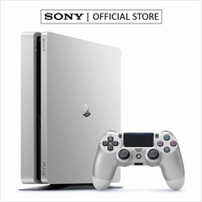 SONY PLAYSTATION PS4 (SILVER EDITION) SLIM CONSOLE 500GB)