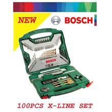 Bosch 100-Piece X-Line Drill & Screwdriver Bit Set + Accessories
