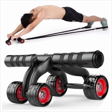 New 4 Wheels Ab Roller 4in1 Abdominal Muscle Fitness Training