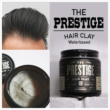 The Prestige All Natural Water Soluble Hair Clay Pomade Natural 100ml