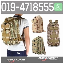 3P Military Tactical Backpack Oxford Sport Bag 25L For Camping Hiking
