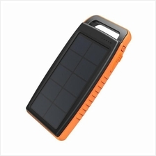 RAVPower 15000mah Outdoor Solar Power Bank Dual USB with Flashlight)