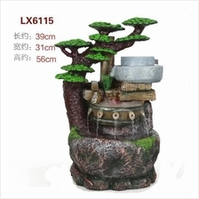 HEIGHT 56 CM FENG SHUI WATER FOUNTAIN 6115 FEATURES DECORATION