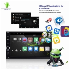 2 Din 7inch Android 1080P Radio Stereo Car Player GPS Navigation wifi