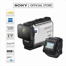 SONY FDR-X3000R ACTION CAMERA WITH LIVE-VIEW REMOTE (WHITE))