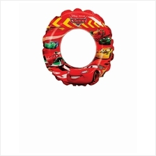 INTEX-CARS 20 INCH SWIM RING, Ages 3-6,58260NP