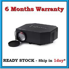 [6 Months Warranty] UC30 HDMI VGA USB AV LED Projector- 1 Day Shipping