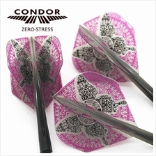 CONDOR Flight ZERO STRESS - butterfly Clear Black - Size S [STANDARD]
