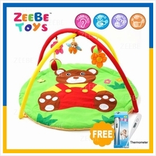 ZEEBE Large Baby Play Soft Gym Soft Mat Toy Travel Bear Design