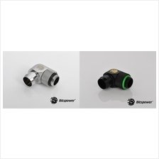 # Bitspower G14' Rotary Angle Stubby 1/2' Fitting # 3 Color Avlb.