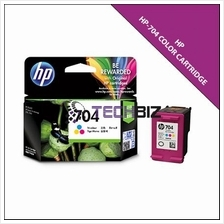 704 COLOR HP INK CARTRIDGE