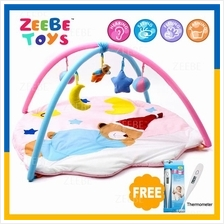 ZEEBE Large Baby Play Soft Gym Soft Mat Toy Travel Santa Claus Design