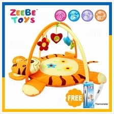 ZEEBE Large Baby Play Soft Gym Soft Mat Toy Travel Tiger Design