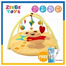 ZEEBE Large Baby Play Soft Gym Soft Mat Toy Travel Kite Bear Design