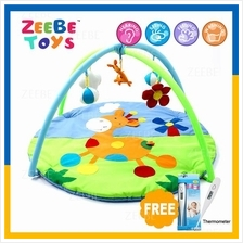 ZEEBE Large Baby Soft Gym Soft Mat Toy Travel Blue Sky Dear Design