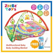 ZEEBE Large Baby Play Soft Gym Soft Mat Toy Travel Jungle Design