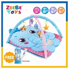 ZEEBE Large Baby Play Soft Gym Soft Mat Toy Travel Elephant Design