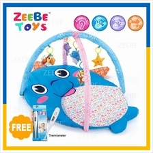 ZEEBE Large Baby Play Soft Gym Soft Mat Toy Travel Dolphin Design