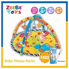 ZEEBE Large Baby Play Soft Gym Soft Mat Toy Travel Animal Design