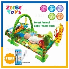 ZEEBE Large Baby Play Soft Gym Soft Mat Toy Travel Forest Design