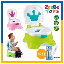 ZEEBE Baby Kids Potty Training Chair Portable Toilet Seat Toddlers