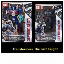 Transformers 2017 The Last Knight Optimus Prime Megatron Figures Toy