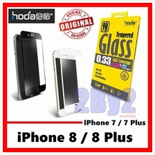 [Ori] HODA case friendly FULL Cover iPhone 8 Plus 7 Tempered Glass