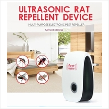 (Msia Plug) Pest Reject Ultrasonic Anti Mosquito Rat Insect Repellent