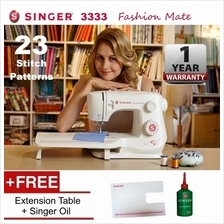 SINGER 3333 Fashion Mate 23-Stitch Sewing Machine with Extension Table