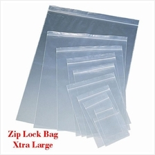 Zip Lock Bag XL2 35cm*45cm Resealable Plastic Bags 100pcs