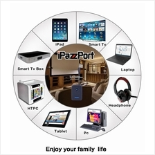 Transmitter Receive Audio Adapter Device Get Bluetooth Signal by AUX