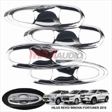 TOYOTA INNOVA 2015-17 Chrome Door Handle Inner Bowl Cover Garnish