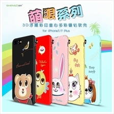 Apple iPhone 5 5S 6 6S 7 8 Plus SHENGO Cartoon Diamond TPU Case Cover
