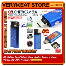 Q8 Lighter Spy Pinhole Cam Hidden Camera Video Camcorder DVR Recorder