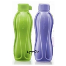 Tupperware  Candy Pop Eco Bottle  (2) 500ml - Green & Purple