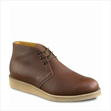 Safety Shoes Red Wing Men Medium Chukka Brown EH 595 Free Ship No GST