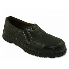 Safety Shoes Rhino Ladies Low Cut Slip On Black L3200