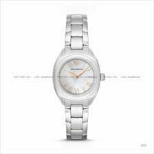 EMPORIO ARMANI AR11037 Women's Dress Watch 2-hand Bracelet White MOP